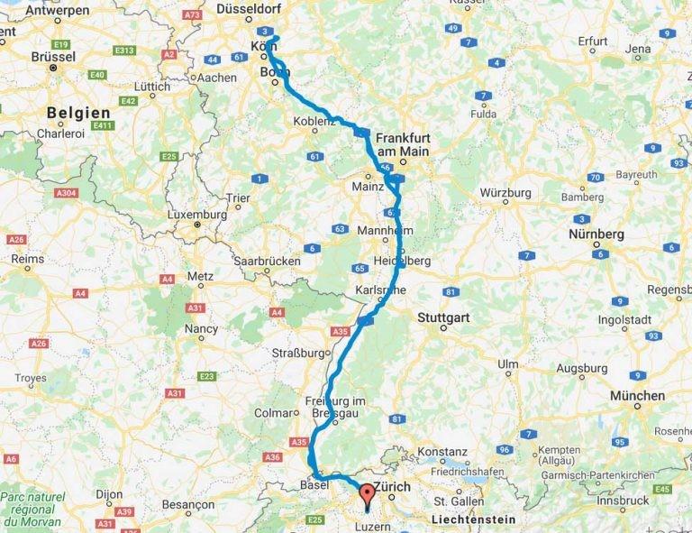 Einmal Köln und zurück